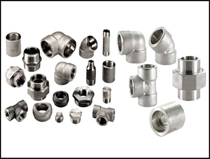 Stainless steel high pressure forged fitting