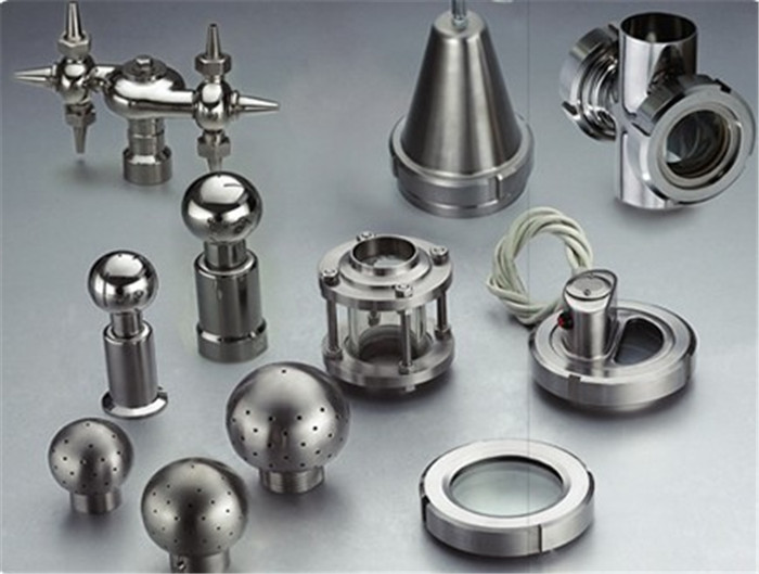 SS Sanitary Fluid Fitting