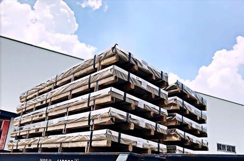 Acero Inox chapas export to South America