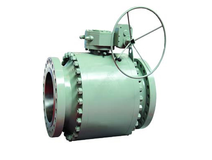 Forged Trunnion Floating Ball Valve