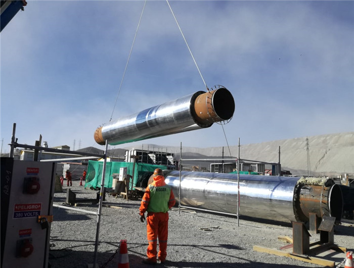 Chile piping project